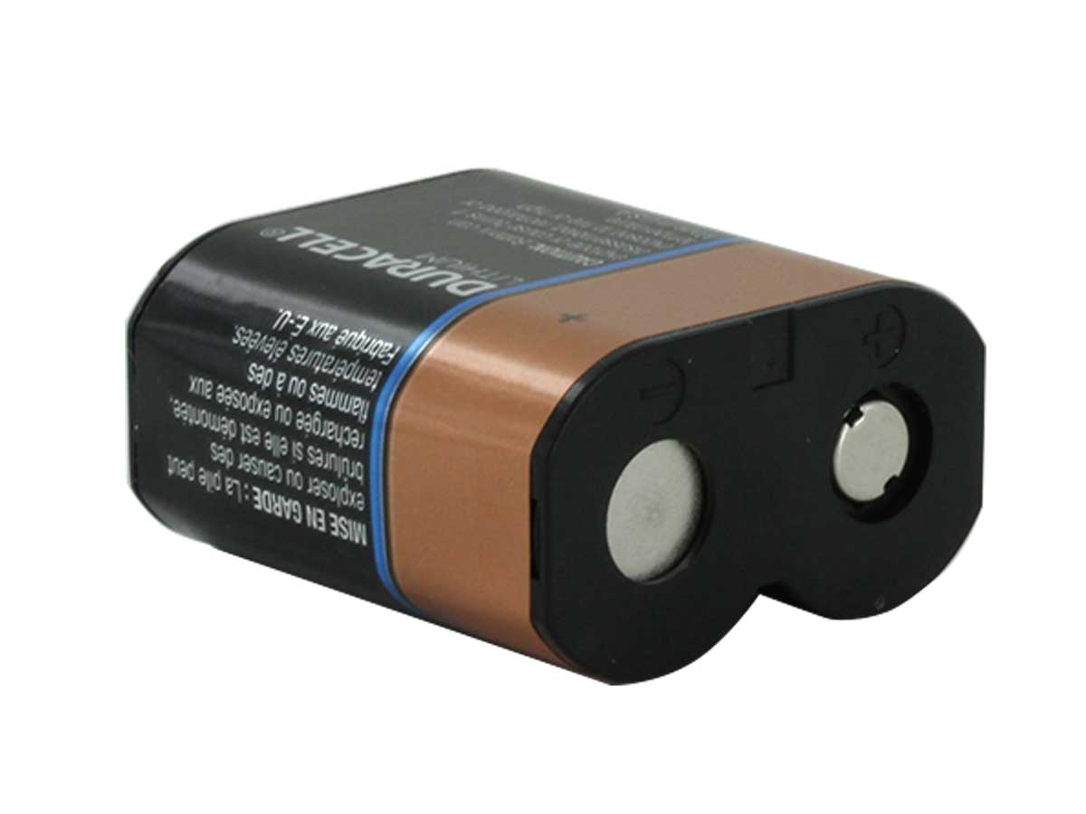 Duracell Car Battery Review >> Duracell 223 6v Lithium Battery (CR-P2, CRP2) From £8.33 EX VAT Buy Online from The Battery Shop